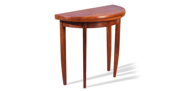 C010 TABLE CONSOLE DEMI LUNE
