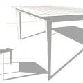 H150 TABLE GARONNE