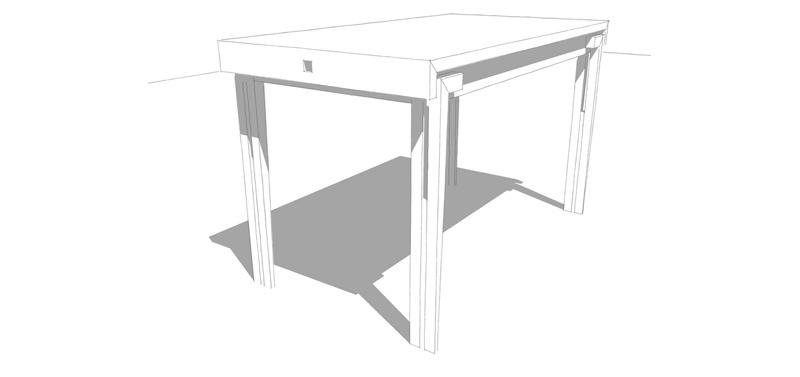 H110 TABLE FRISCO