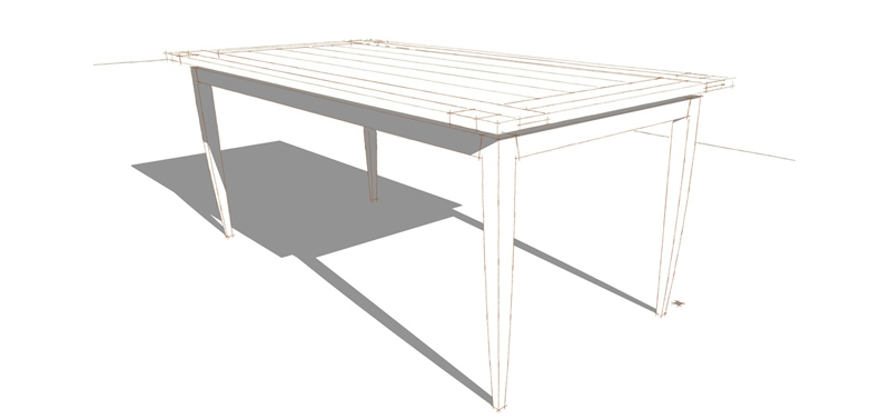 H130 TABLE DEGE
